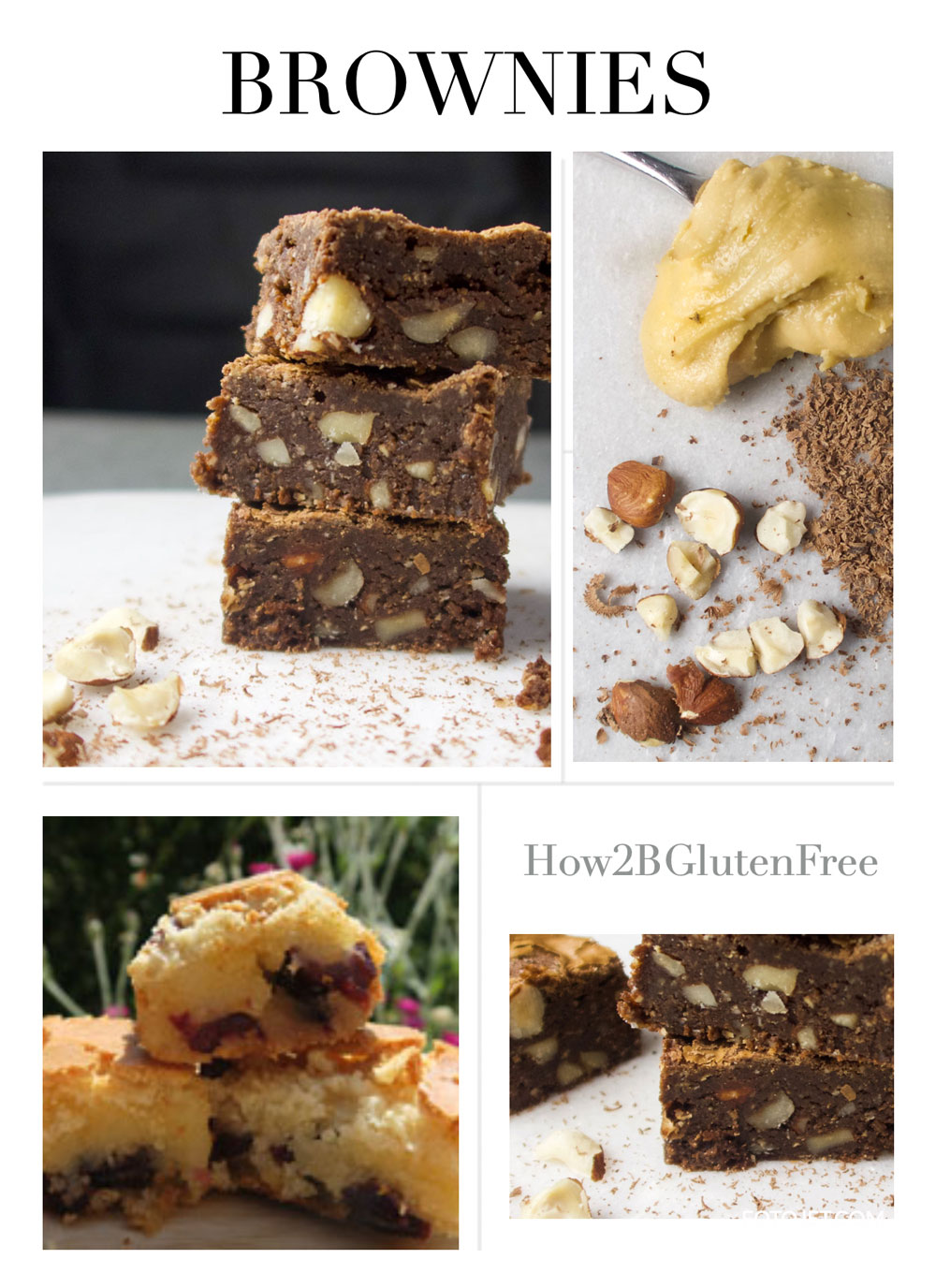Gluten Free Brownie Recipes.Easy to follow brownie recipes. Whether you like your brownies chewy, fudgy or nutty, there's a recipe for you.