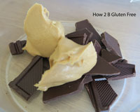 Melting chocolate and peanut butter or butter in a microwave couldn't be easier with this foolproof method.