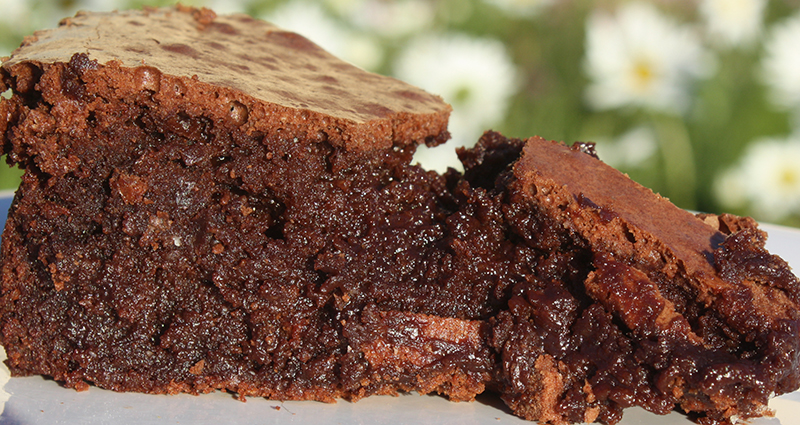 """Best flourless chocolate cake. """"Simply heavenly"""" Enjoy lots of complements with this easy to follow naturally gluten free chocolate cake recipe."""