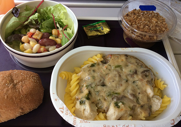 Best options for gluten free meal on flights